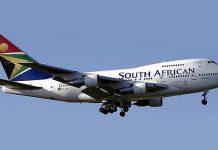 Авиакомпания South African Airways (Южноафриканские авиалинии)