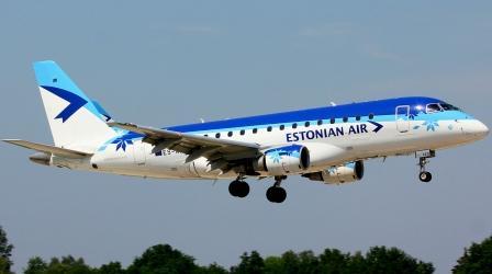 «Estonian Air» авиакомпания Эстонии - представительство