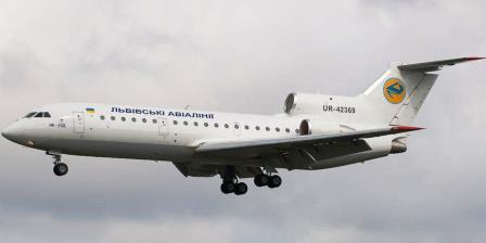 Авиакомпания Львовские авиалинии: представительство в России