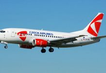 Авиакомпания Чешские авиалинии (Czech Airlines)