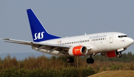 Авиакомпания SAS (Скандинавские авиалинии) - Scandinavian Airlines System