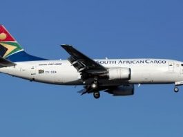 South African Airways Cargo - авиакомпания (ЮАР)