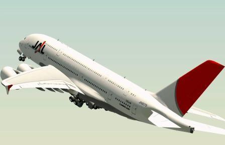"""Japan Airlines - национальная авиакомпания Японии """"JAL"""""""